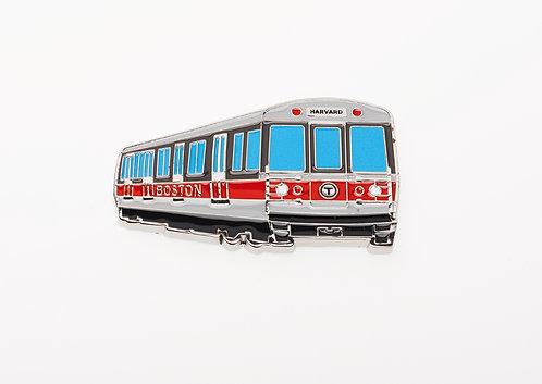 MBTA Metal Magnet - Red Line