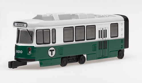 Boston MBTA Toy Green Line Die Cast Trolley