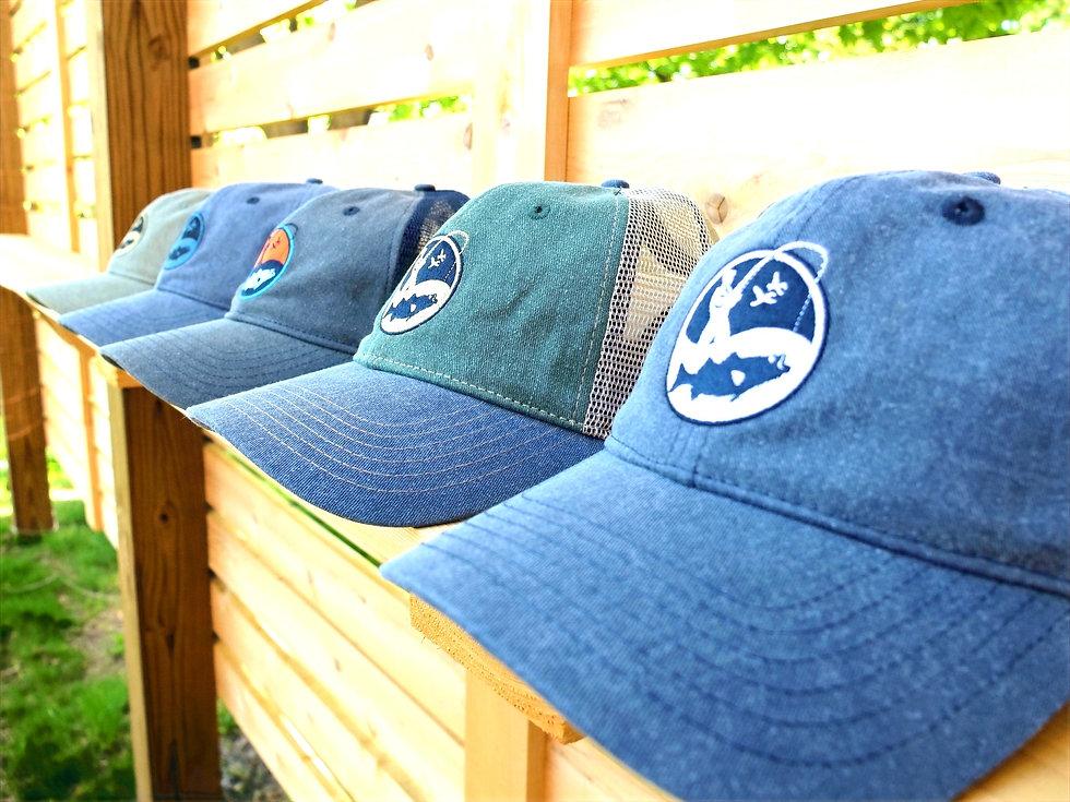Vintage wash fishermen caps