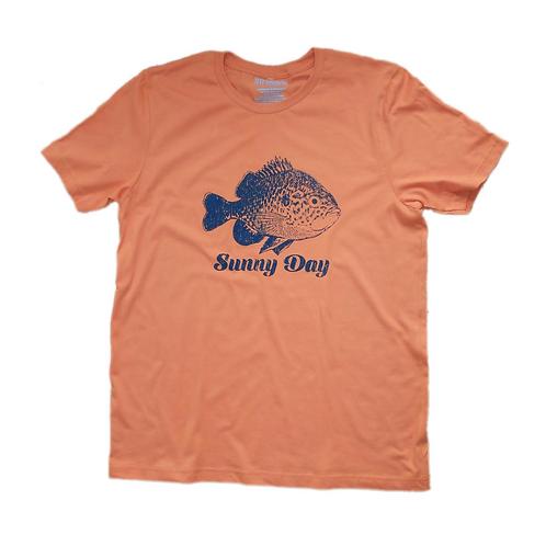 light orange bluegill sunny day t-shirt