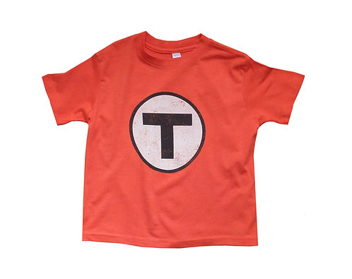 Boston MBTA Logo Orange Line t-shirt for toddlers