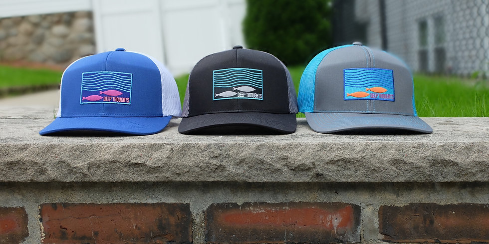 Modern Trucker Caps for the Beach or Fishing