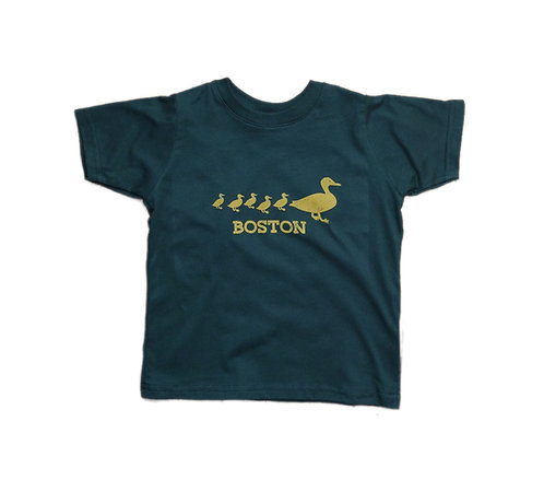 Forest Green Boston Ducklings T-shirt for Toddlers