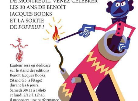 France - Les 30 ans des éditions Benoît Jacques Books au salon du livre de jeunesse de Montreuil