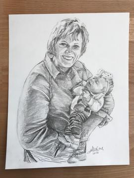 Grandma + Baby