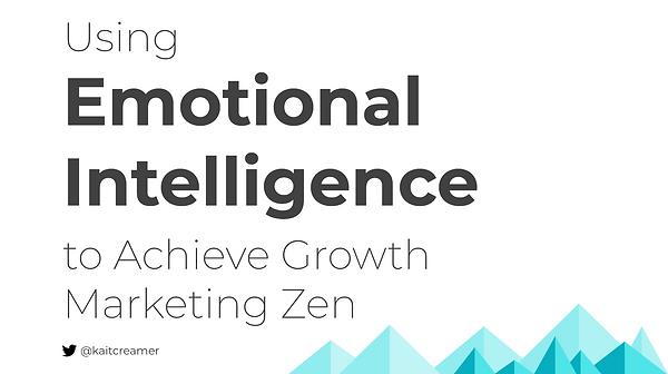 Emotional Intelligence at Denver Startup