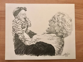 Grandmother + Baby