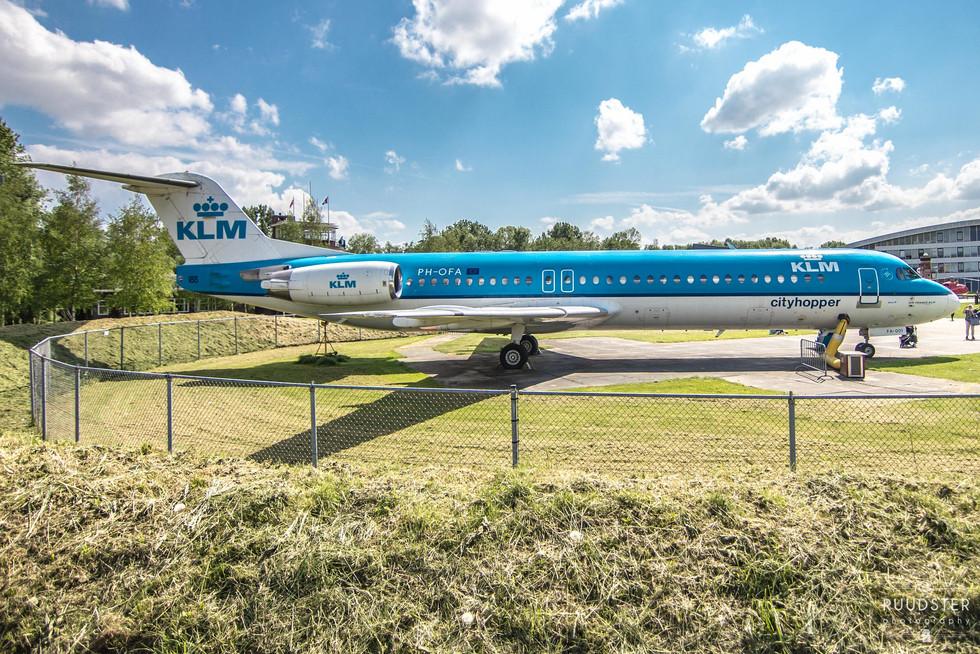 PH-OFA   Build: 1989 - Fokker F28-0100