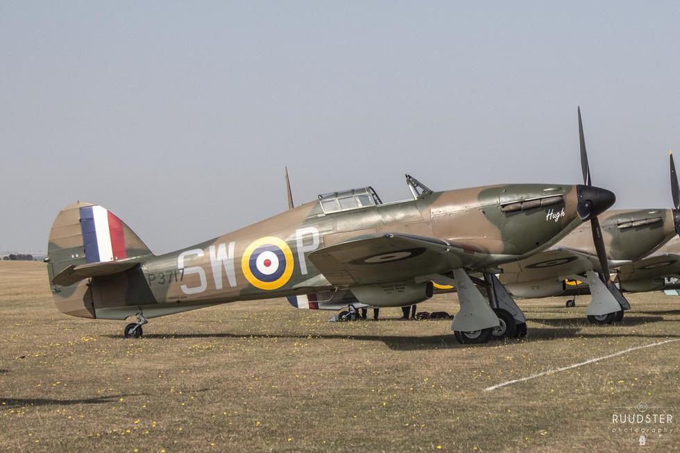 P3717 / G-HITT | Build: 1940 - Hawker Hurricane Mk.I