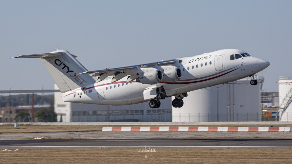 EI-RJY   Build: 1997 - BAE Avro RJ85