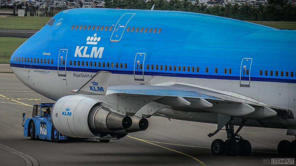PH-BFO   Build: 1992 - Boeing 747-406M