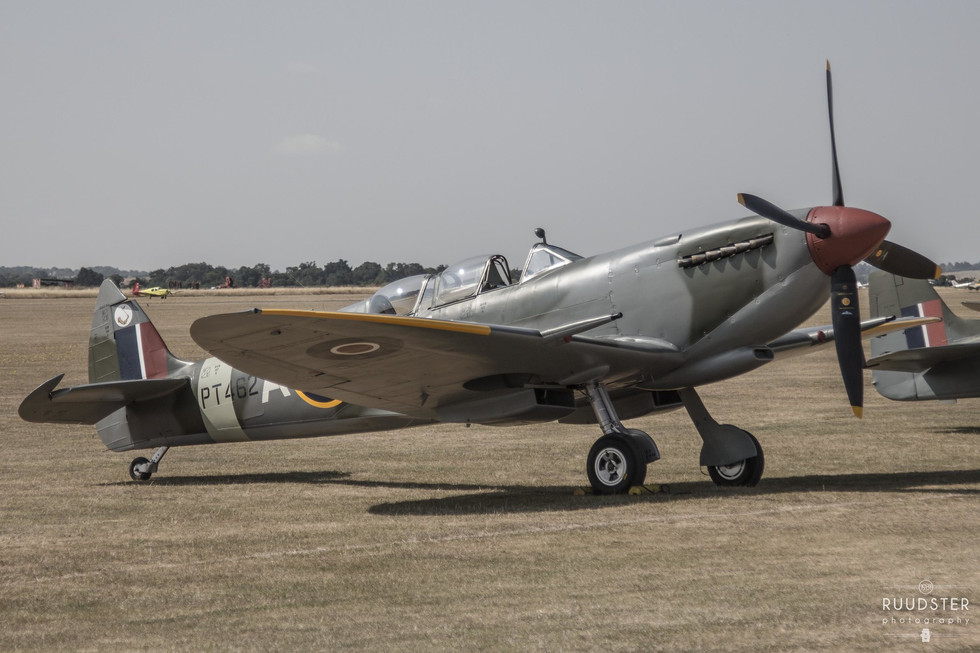 PT462 | Build: 1943 - Supermarine Spitfire Mk.H.F.IXe