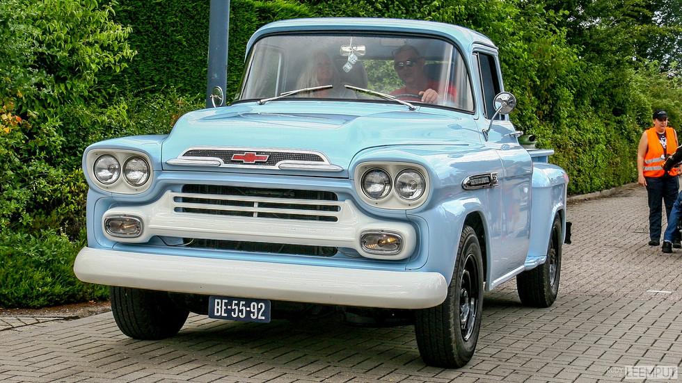 1959 | BE-55-92 | Chevrolet Stepside Pick Up