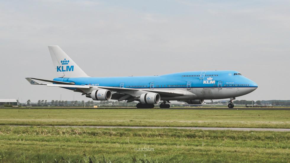PH-BFK   Build: 1991 - Boeing 747-400M