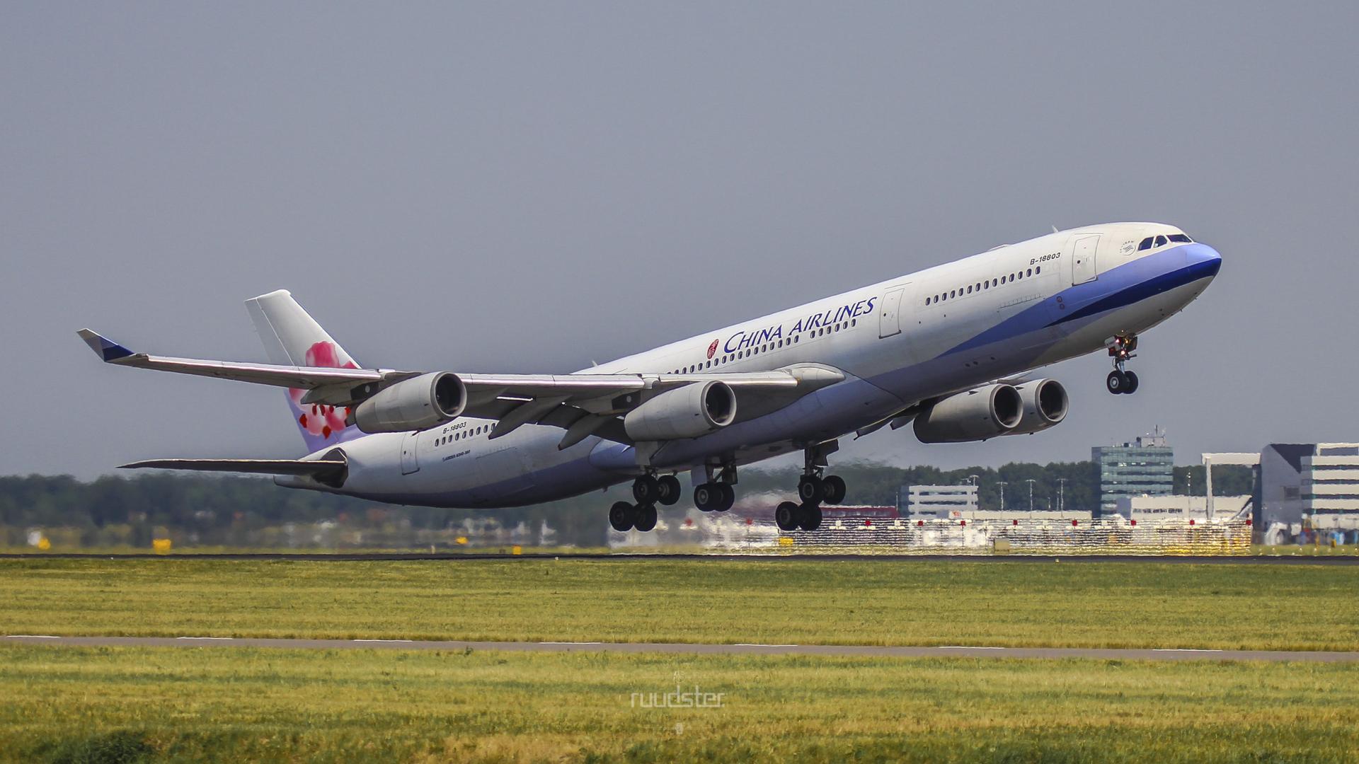 B-18803 | Build: 2001 - Airbus A340-300