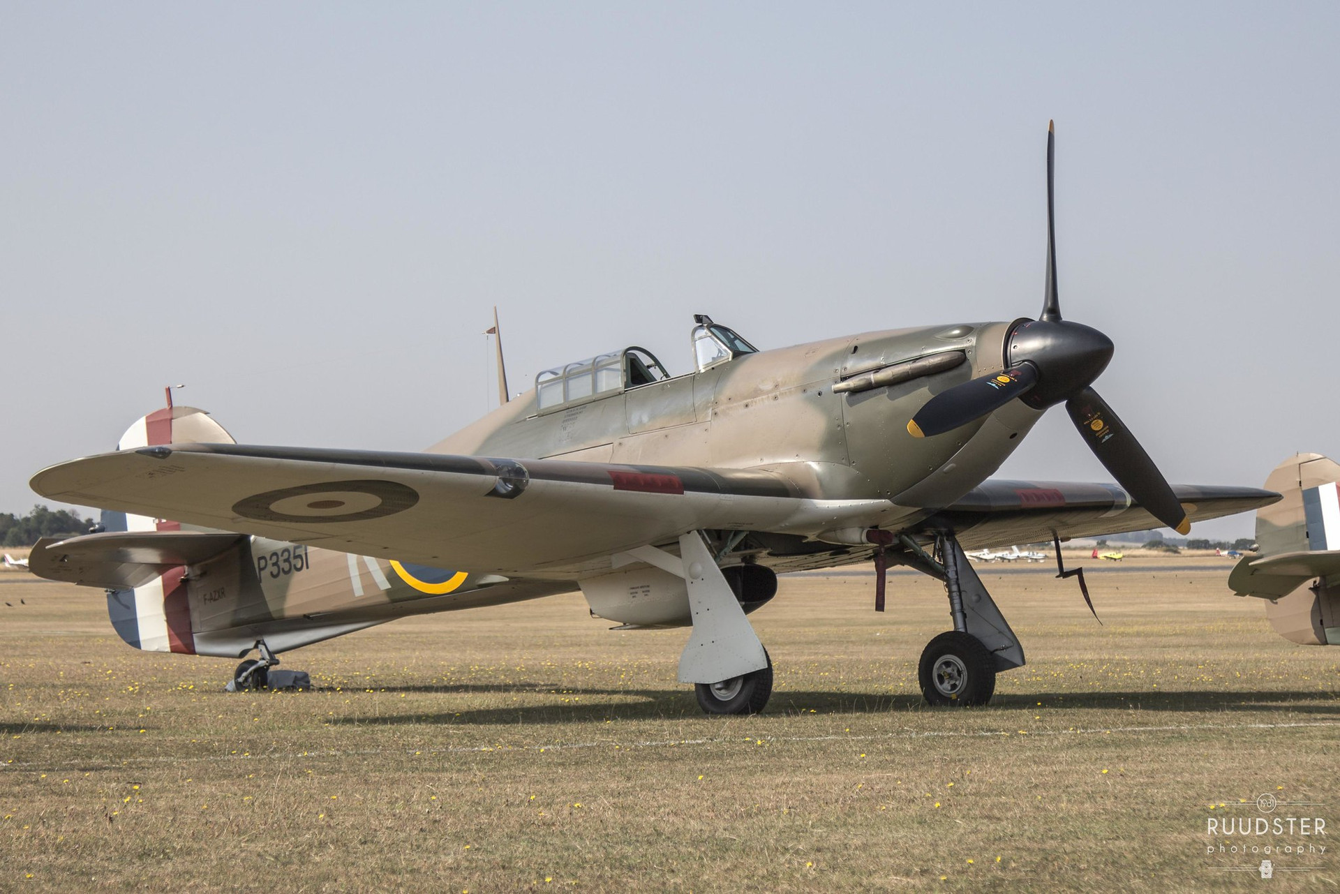 P3351 / F-AZXR   Build: 1940 - Hawker Hurricane Mk.IIa