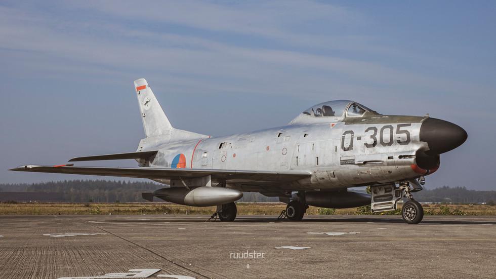 Q-305 | Build: 1954 - North American F86K Sabre
