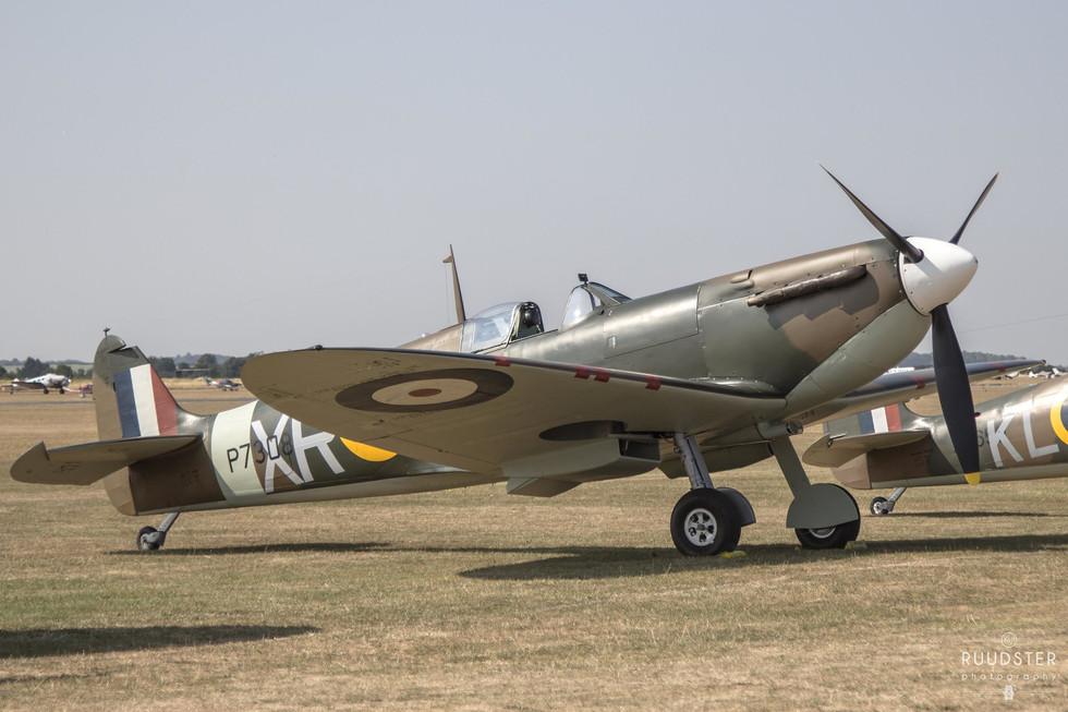 P7308 / G-AIST | Build: 1940 - Supermarine Spitfire Mk.Ia
