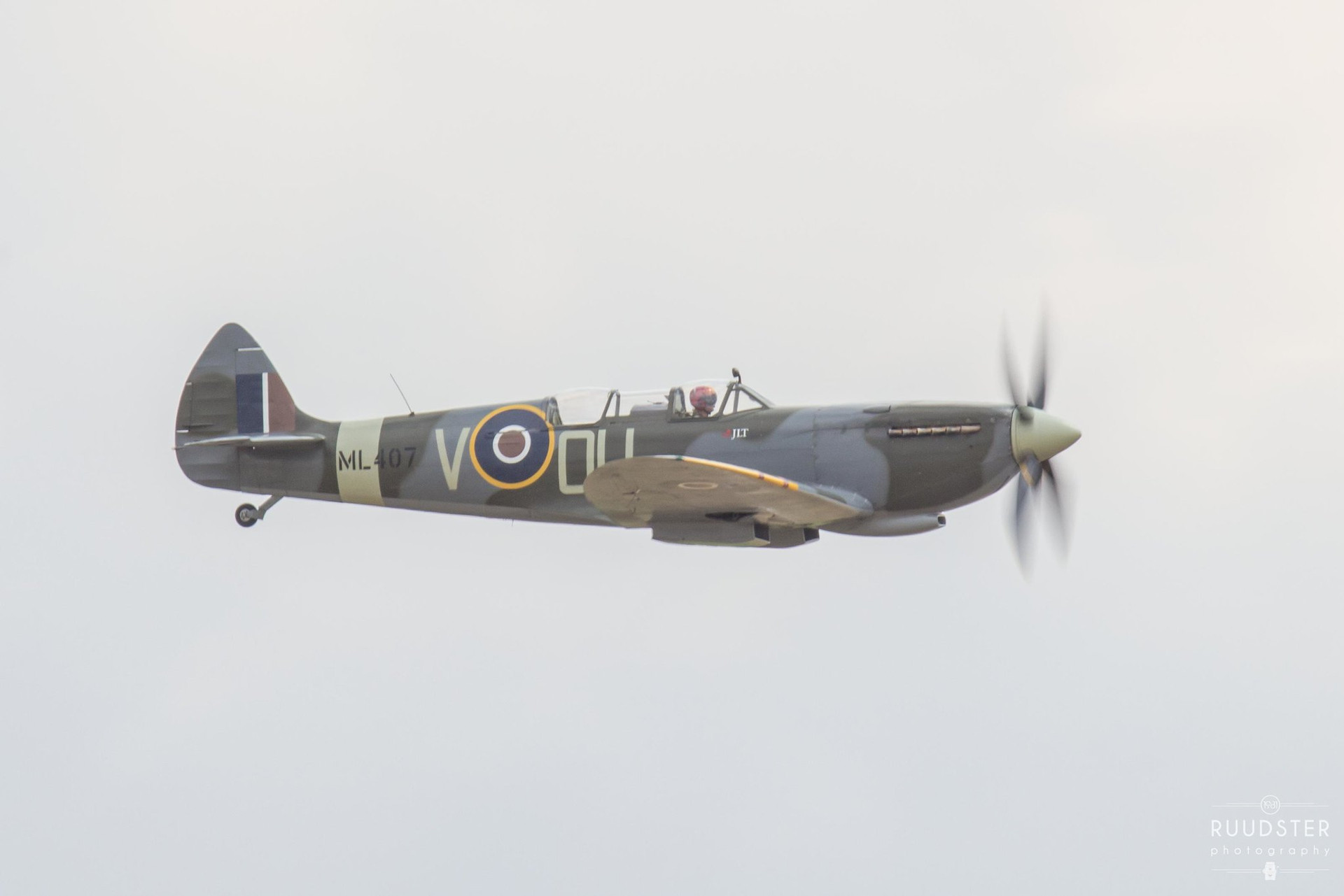 ML407   Build: 1944 - Supermarine Spitfire Mk.IX