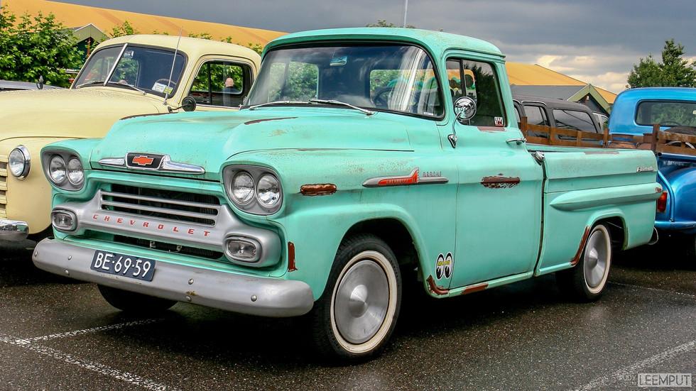 1958 | BE-69-59 | Chevrolet Fleetside Pickup
