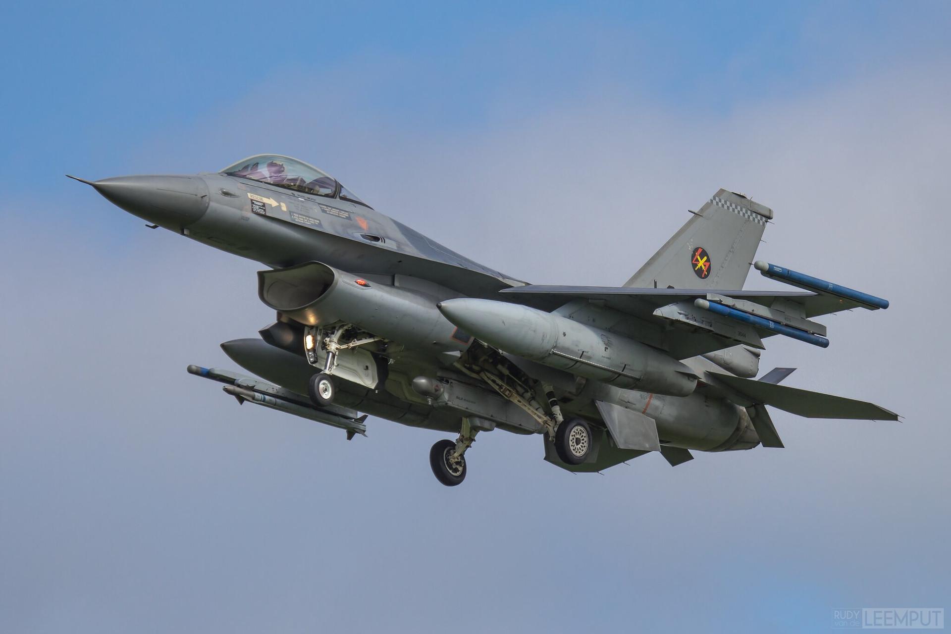 J-011   Build: 1991 - Lockheed F-16 A Fighting Falcon