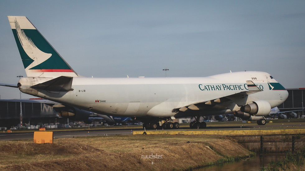 B-LIB   Build: 2008 - Boeing 747-400F