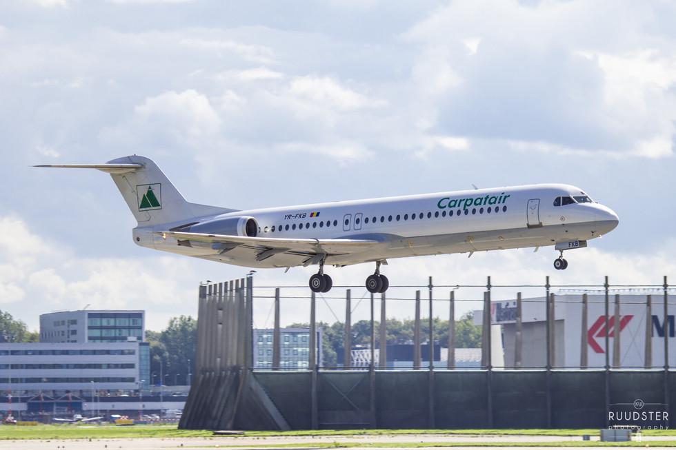 YR-FKB   Build: 1991 - Fokker 100
