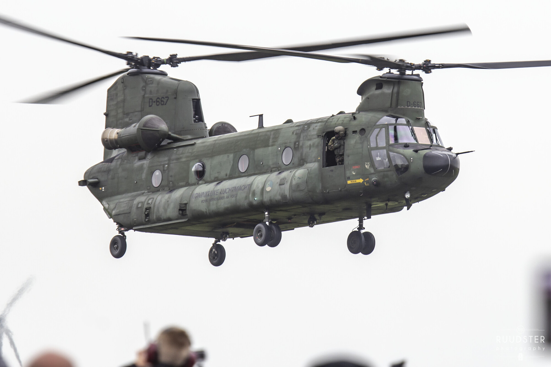 D-667   Build: 1996 - Boeing CH-47D Chinook