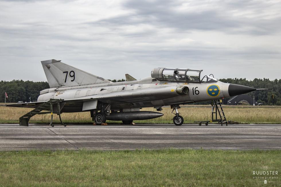 79 / SE-DXP | Build: .... - Saab SK-35C Draken