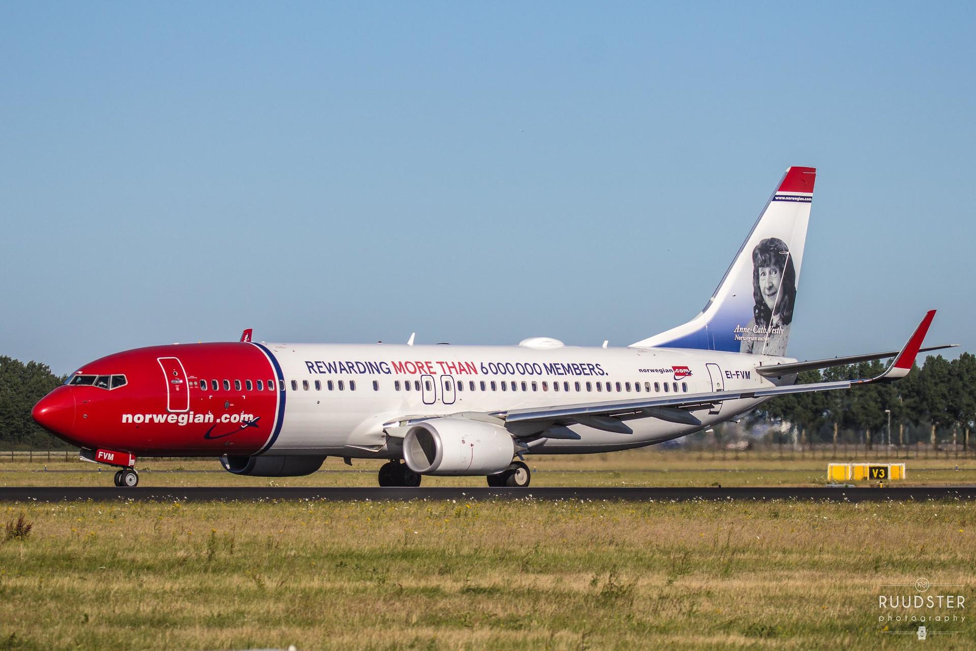 EI-FVM | Build: 2017 - Boeing 737-8JP