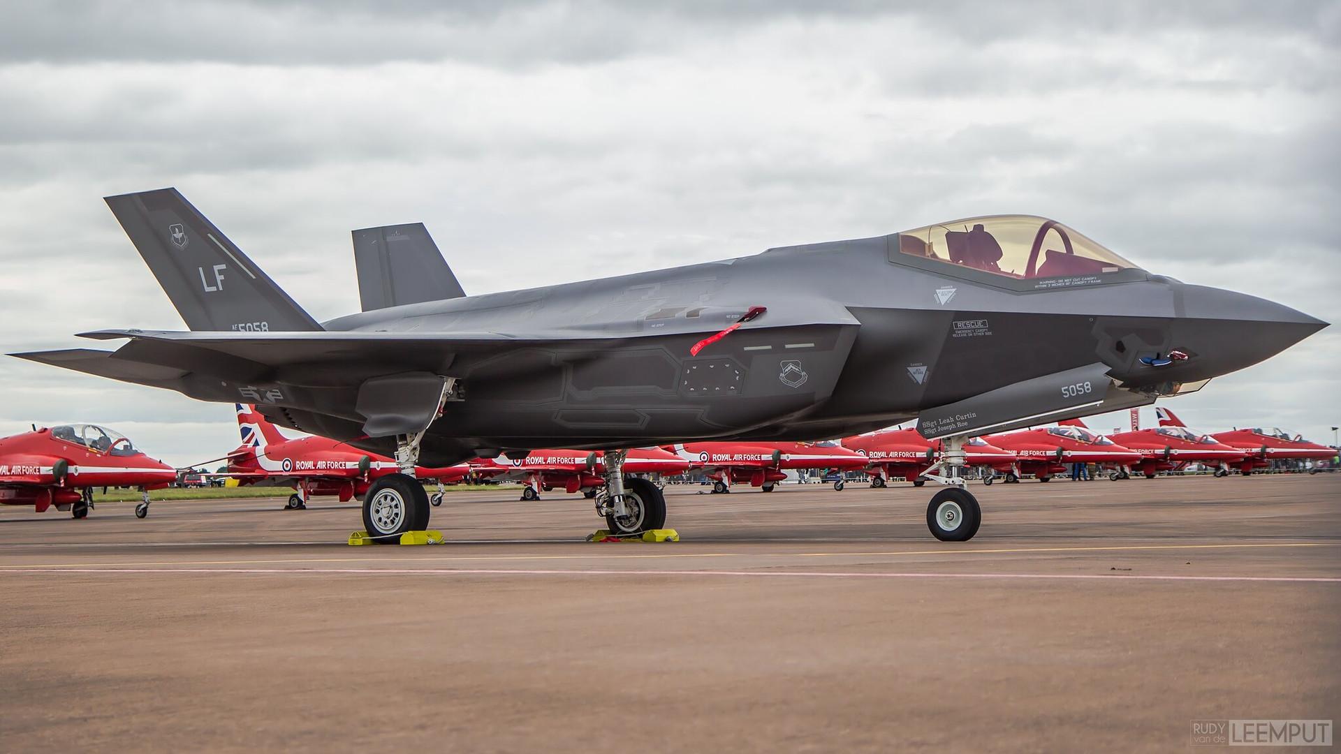 12-5058   Build: 2012 - Lockheed Martin F-35A Lightning II