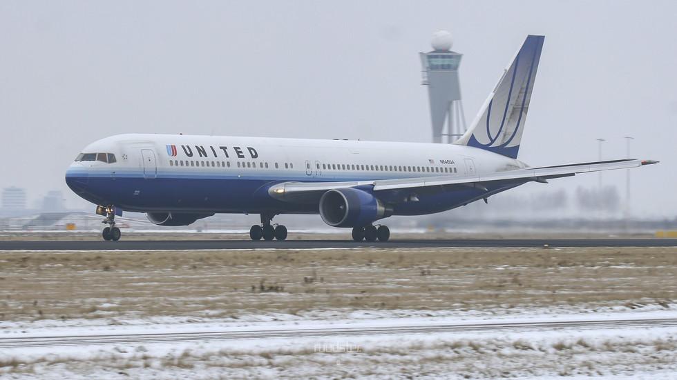 1992 | N646UA | Build: 1992 - Boeing 767-322