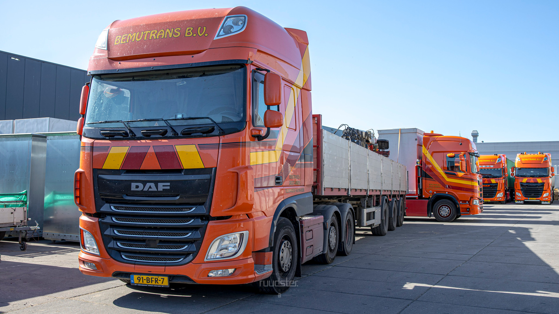 91-BFR-7 | Build: 2015 - DAF XF106.460