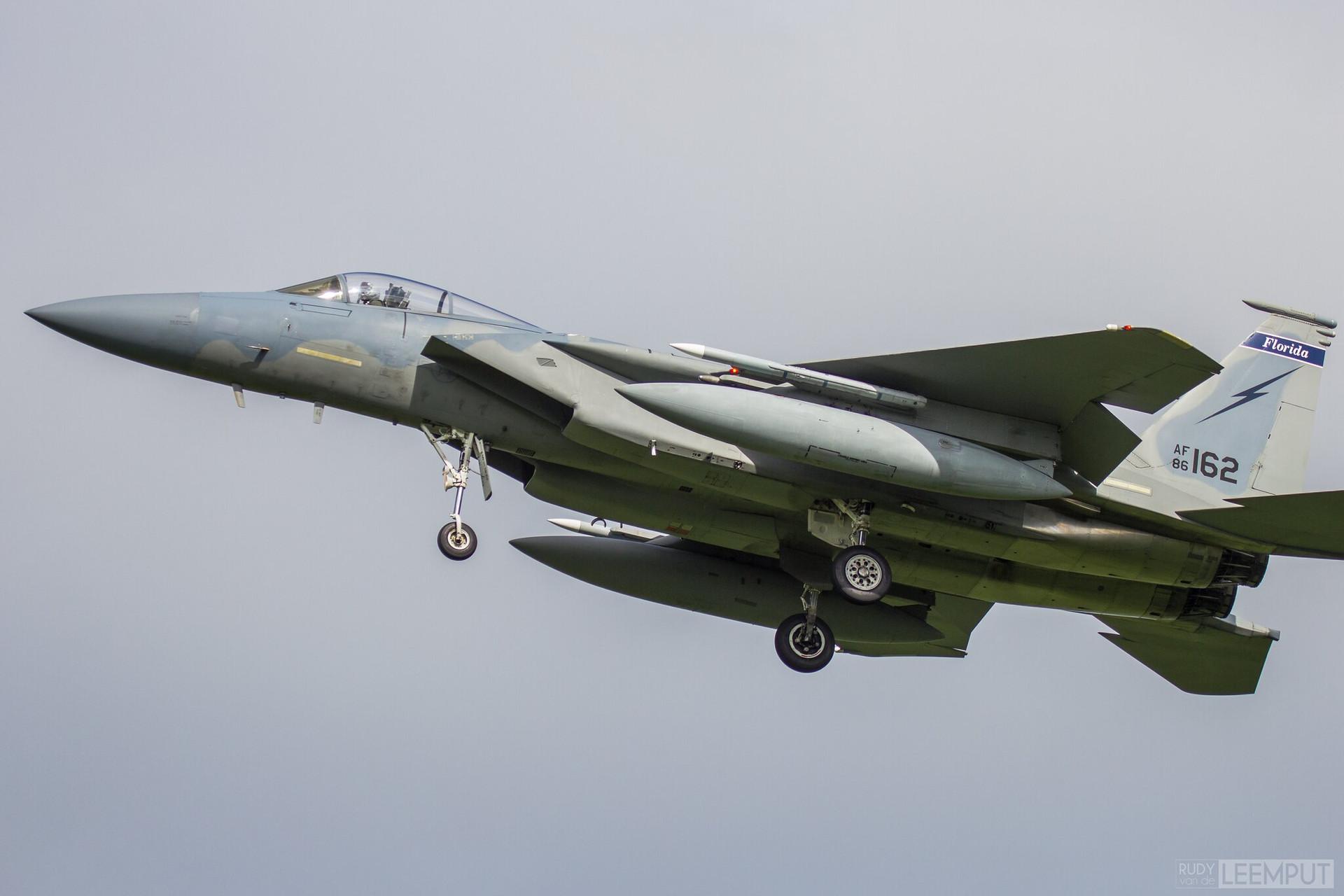 86-162   Build: .... - McDonnell Douglas F15c