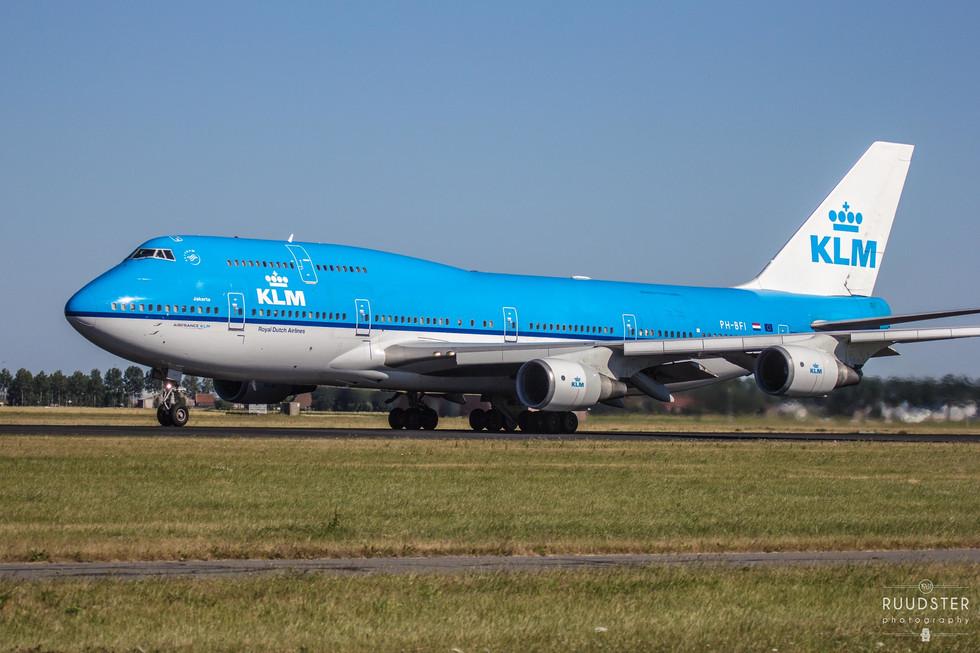 PH-BFI   Build: 1991 - Boeing 747-400M