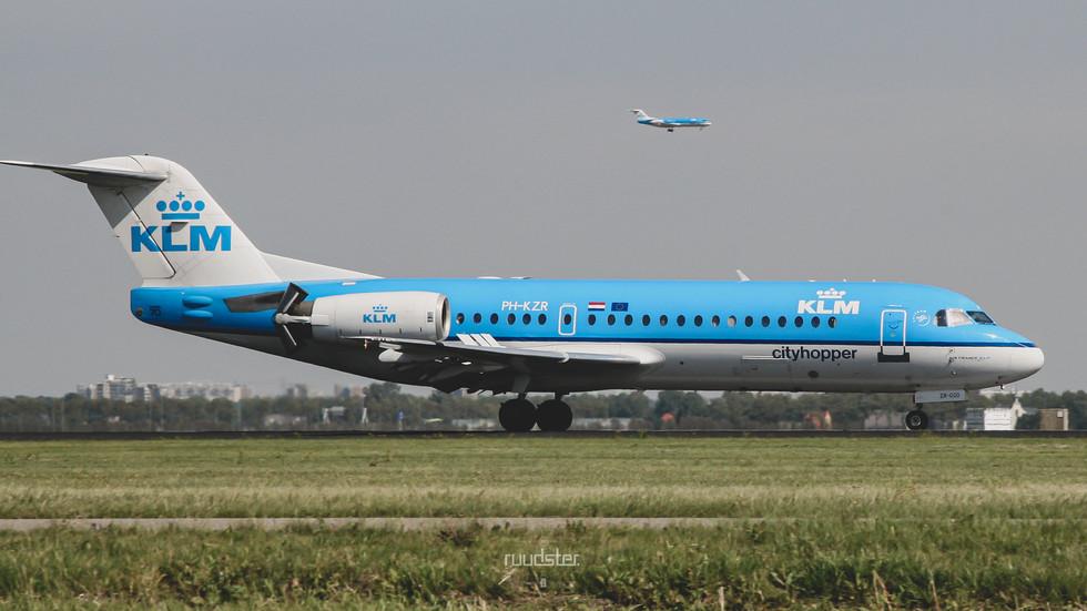 PH-KZR   Build: 2002 - Fokker F70