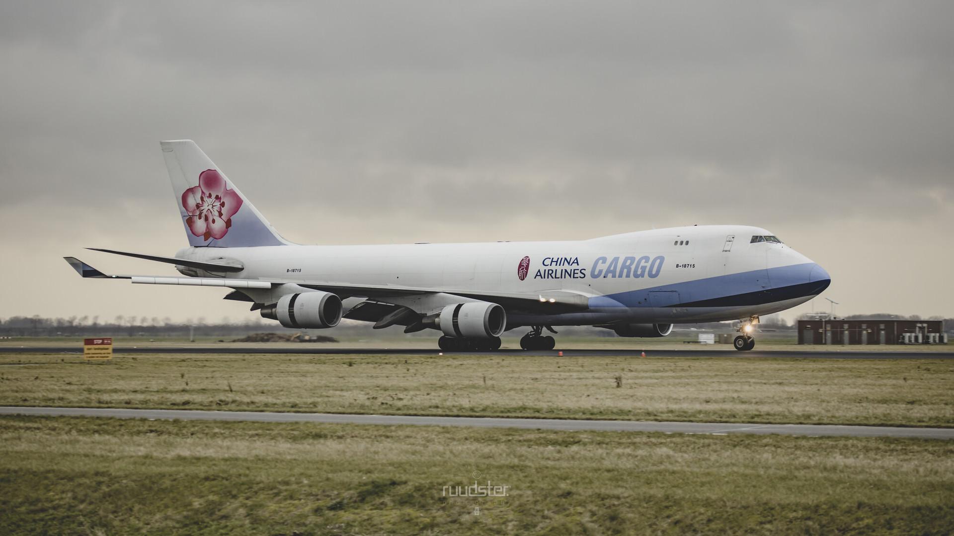 B-18715 | Build: 2003 - Boeing 747-400F