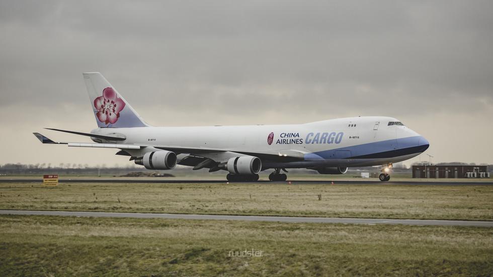 B-18715   Build: 2003 - Boeing 747-400F