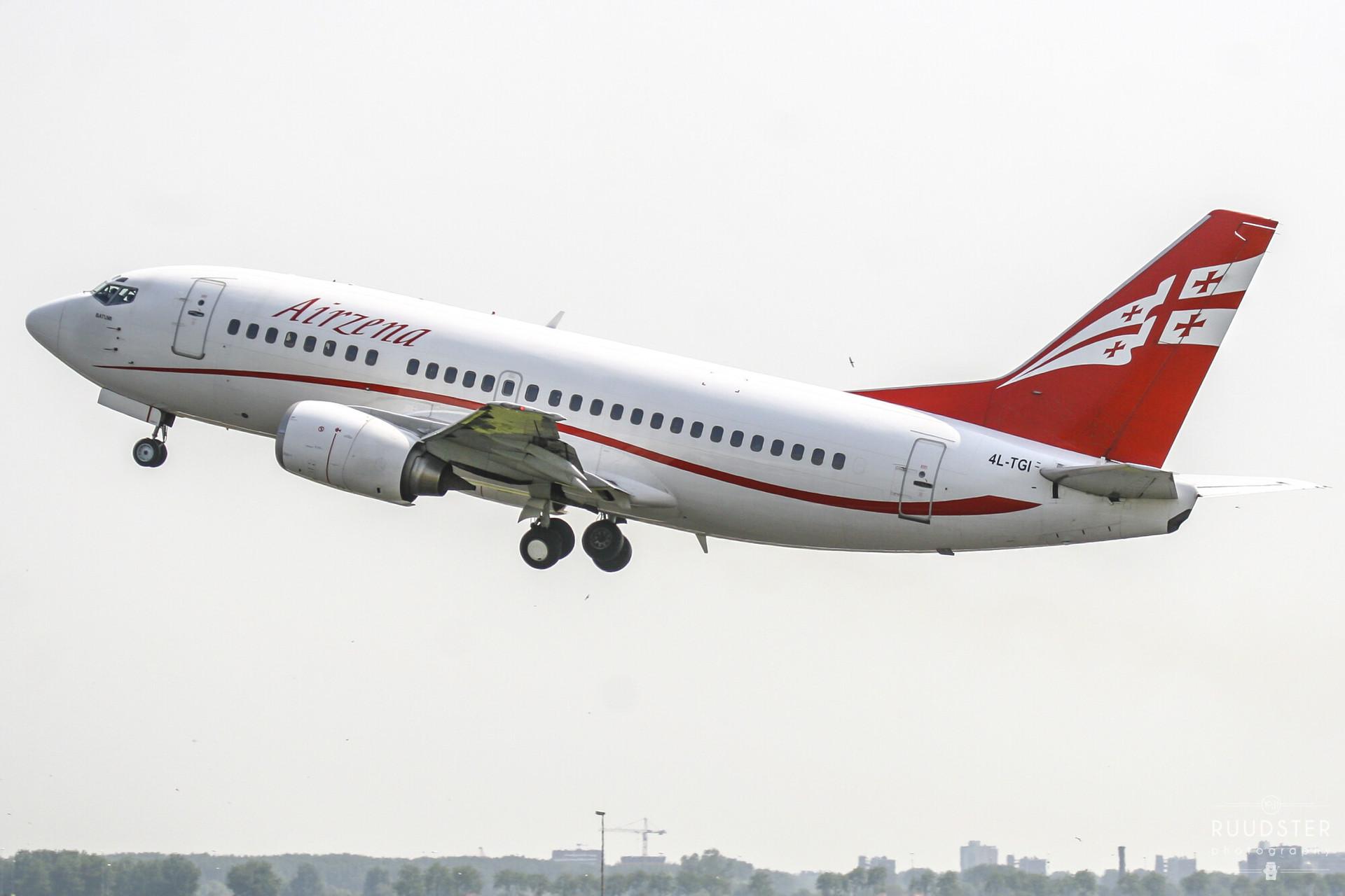 4L-TGI | Build: 1993 - Boeing 737-505