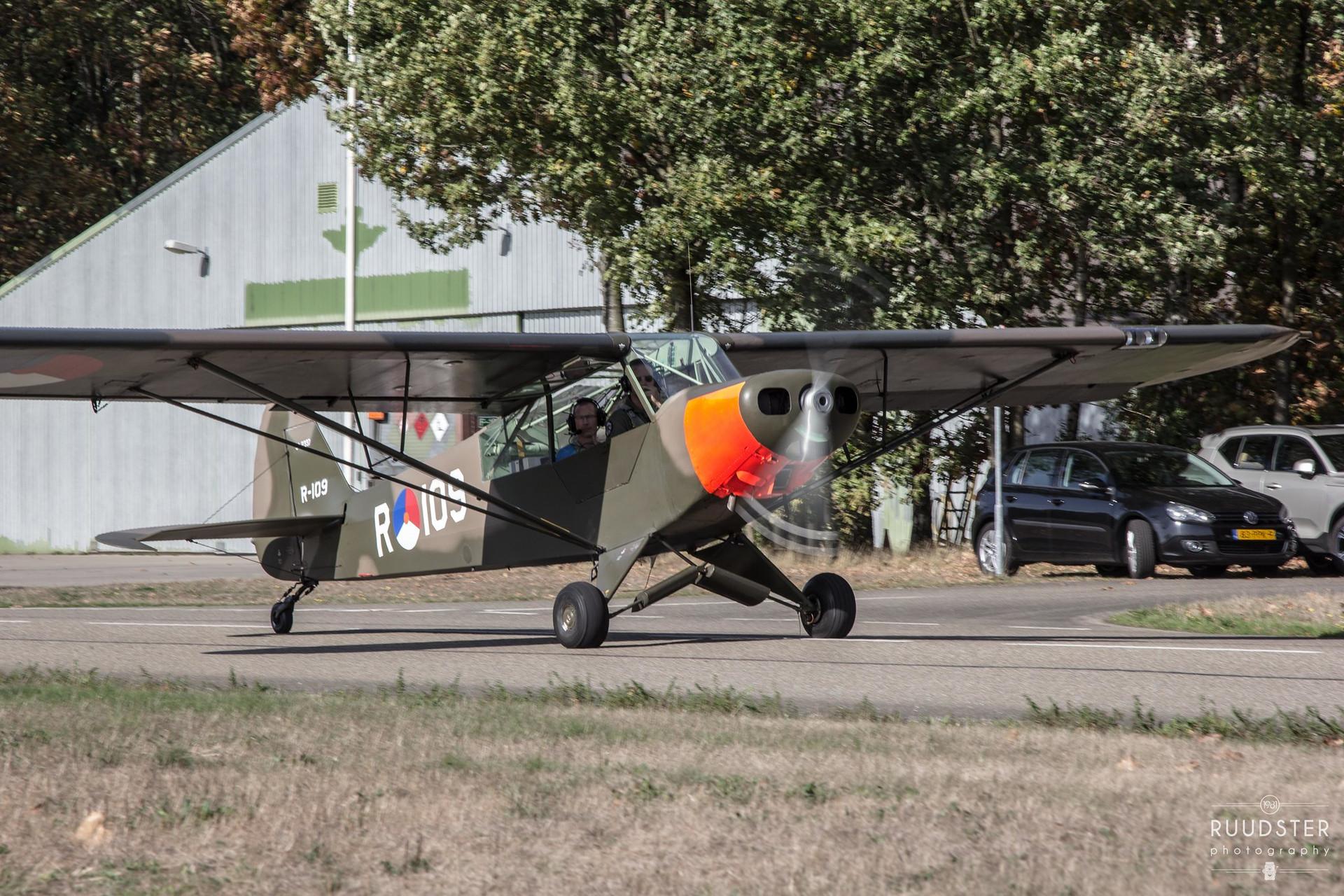 R-109   Build: 1954 - Piper Super Cub L-21A/U-7B