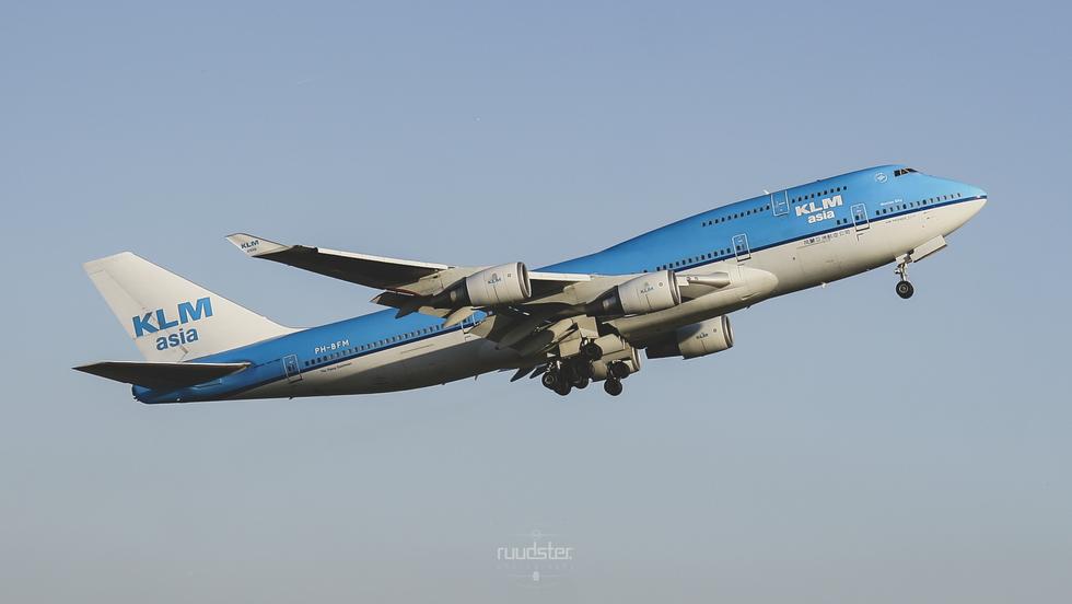 PH-BFM   Build: 1992 - Boeing 747-400M