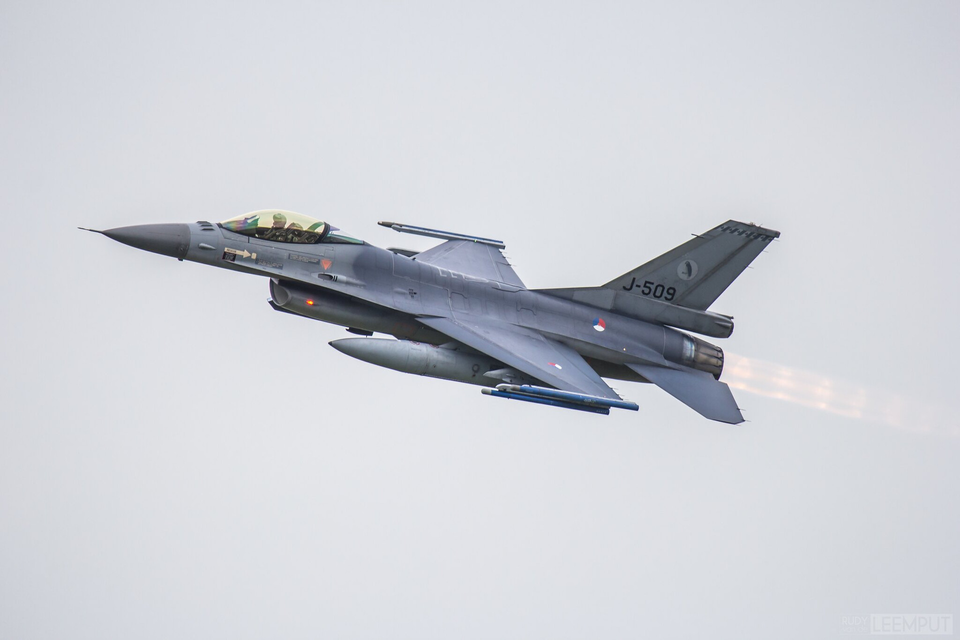 J-509   Build: 1989 - Lockheed F-16 A Fighting Falcon
