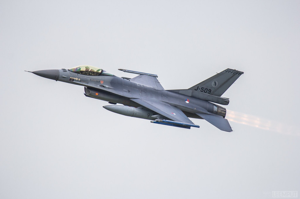 J-509 | Build: 1989 - Lockheed F-16 A Fighting Falcon