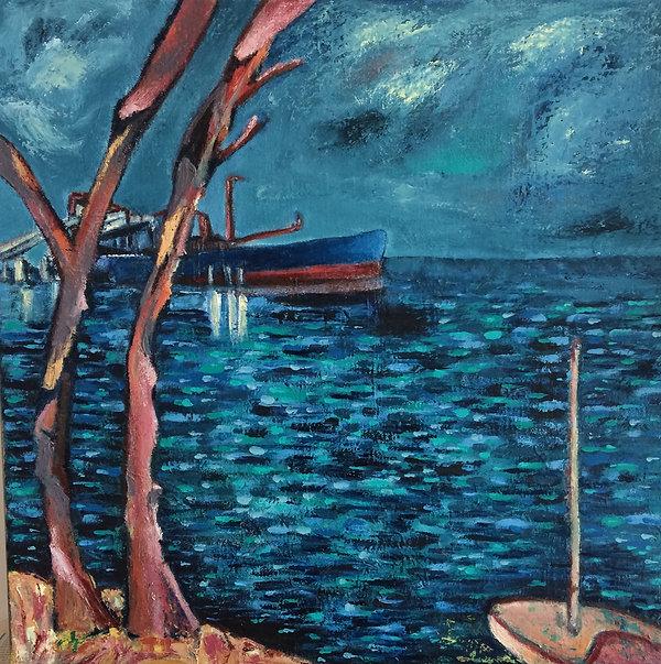 Blue Ship, Port Latta