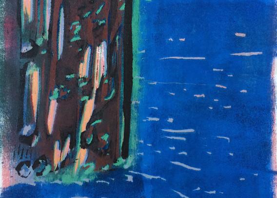Blue Current works in between Romantic Rocks