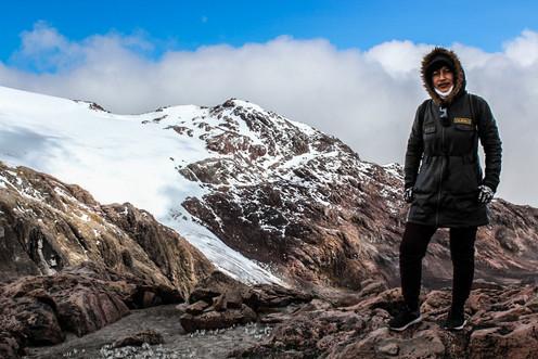 Cayambe Glaciar