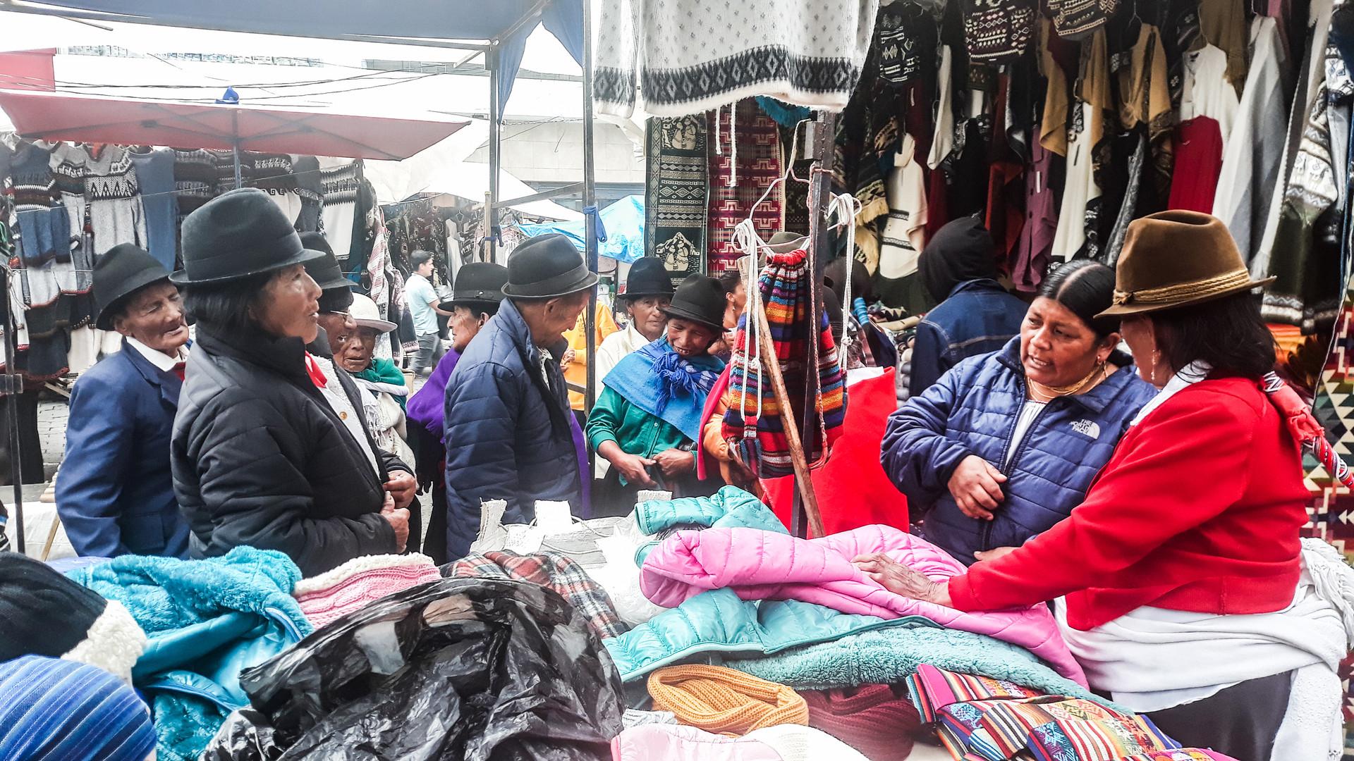 Ecuadorian visitors