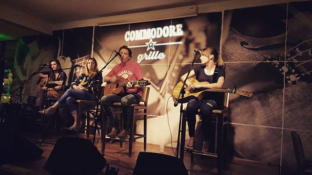 Had a great time at the commodore grille tonight, there were so many amazing songwriters! Fun evenin