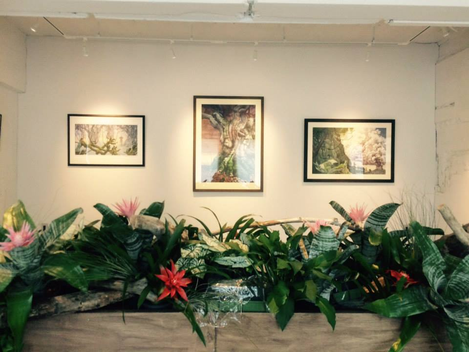 Exhibition at Courtyard, Hiroo