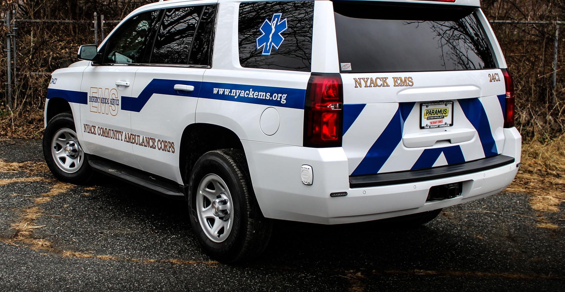 2019 Tahoe EMS Response Unit